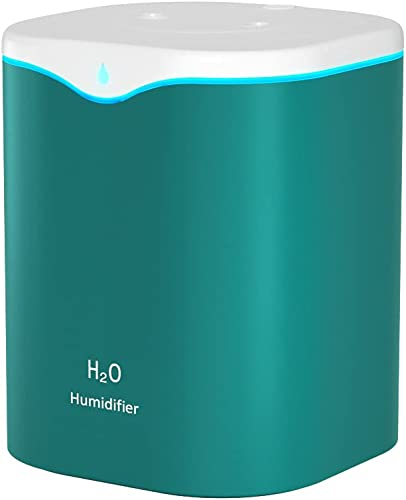 lowest 2L Double wholesale Spray humidifier, USB Large Capacity humidifier, new arrival Silent, Large Spray, Suitable for Bedroom, Office and Other Spaces (Green) outlet sale