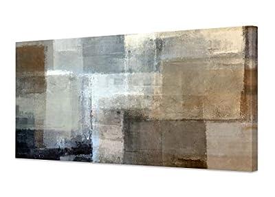 Baisuart Framed Abstract Wall Art Painting on Canvas by Baisuart