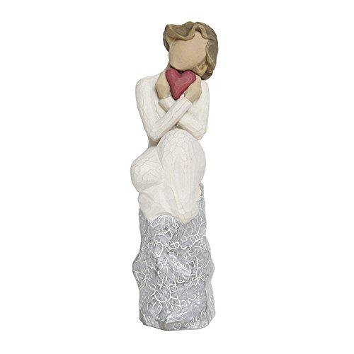 Willow Tree Figur mit Herz Skulptur Always von Susann Lord