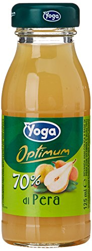 Yoga - Optimum Succi 70% Pera, 125 ml (Pacco da 6)