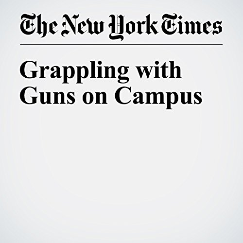 Grappling with Guns on Campus cover art
