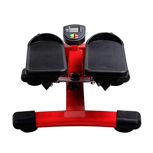DSHUJC Stepper Indoor Fitness Stair Stepper Adjustable Mini Fitness Stepper Exercise Machine Cardio Exercise Trainer Twisting Action Mini Stepper (Sports indoor