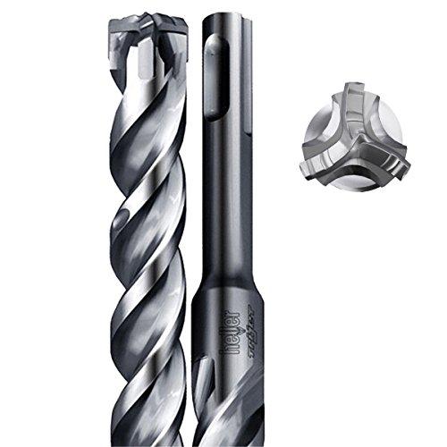 Heller German Manufactured SDS+ Tri-Jet Drill Bits (10mm x 450mm)