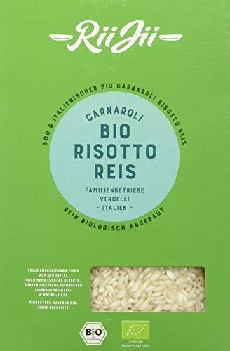 RiiJii Bio Risotto Reis Carnaroli, 500 g