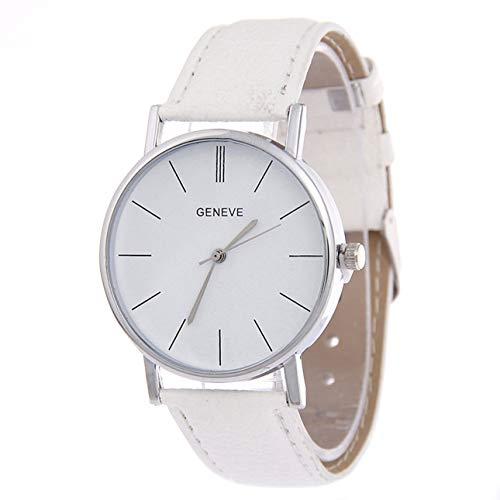 Ba30DEllylelly ZLF0378 Reloj Elegante para Mujer con Correa de Cuero, Reloj de Pulsera de Cuarzo, Bonito Regalo