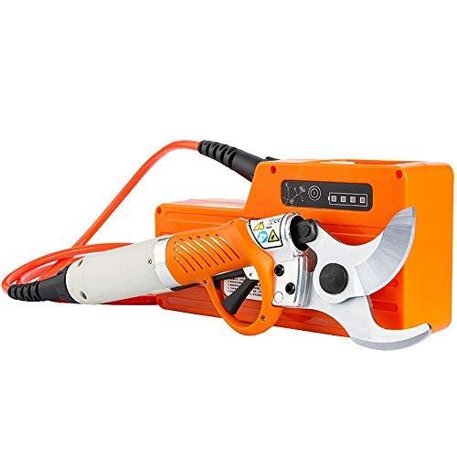 YINGY Nuevas Tijeras eléctricas Profesionales,cortadora portátil automática de 45mm,cortadora, batería de Litio Recargable,Funcionamiento Estable Durante 10 Horas(Tijeras de Estilo Trasero de 4,5cm)