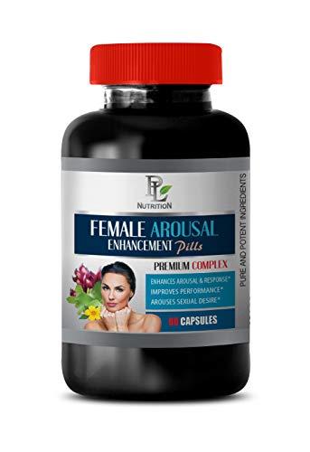 libido Booster for Women Best Seller - Female Arousal Enhancement Pills - Premium Complex - Improves Performance - Horny Goat Weed Health Solution - 1 Bottle 60 Capsules