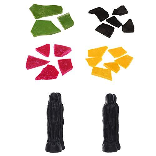 joyMerit Hombres Mujeres Molde para Fabricar Velas Molde para Fabricar Velas 200mm con Tintes para Velas