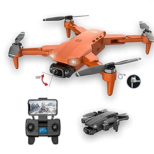 FMHCTN Mini Drone Quadcopter Plegable 4K HD Cámara GPS RC Drone con 1 batería Gris