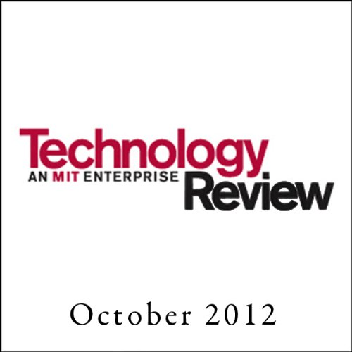 Audible Technology Review, October 2012 cover art