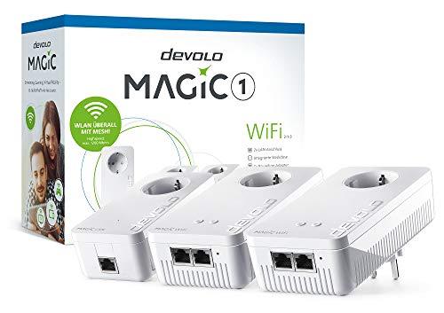 Devolo Magic 1 WiFi Multiroom Kit 2-1-3 2xWiFi+1xLAN 1200mbps Powerline Adapter