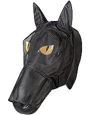 PFIFF 101013 maska przeciwko owadom maska na twarz z motywem dla koni, ochrona przed muchami