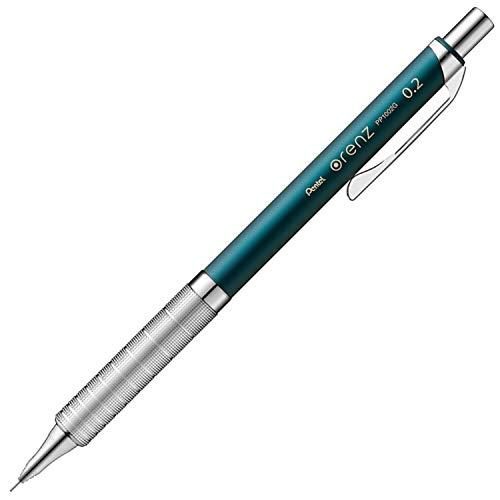 ぺんてる シャープペン オレンズメタルグリップ02 XPP1002G2-S2 ターコイズブルー