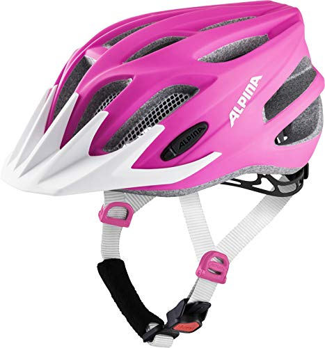 ALPINA Unisex - Kinder, FB JR. 2.0 LE Fahrradhelm, pink matt, 50-55 cm