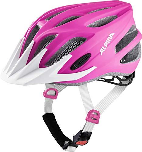 Alpina Mädchen FB JR. 2.0 LE Fahrradhelm, pink matt, 50-55 cm