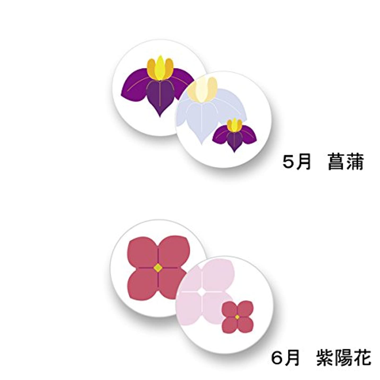 枯渇超える邪悪な花京香 文香 1月~12月 (6月(紫陽花))