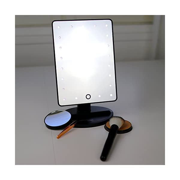 Beauty Shopping Absolutely Luvly Natural Daylight Lighted Makeup Mirror/Vanity