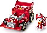 La Pat' Patrouille - 6058585 - Véhicule + Figurine Ready Race Rescue - Marcus - Voiture Paw Patrol - Jeu jouet enfant