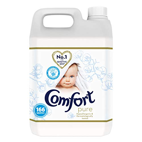 Comfort Pure Hypoallergenic Fabric Conditioner No.1 for Sensitive Skin* 166 Washes 5 Litre