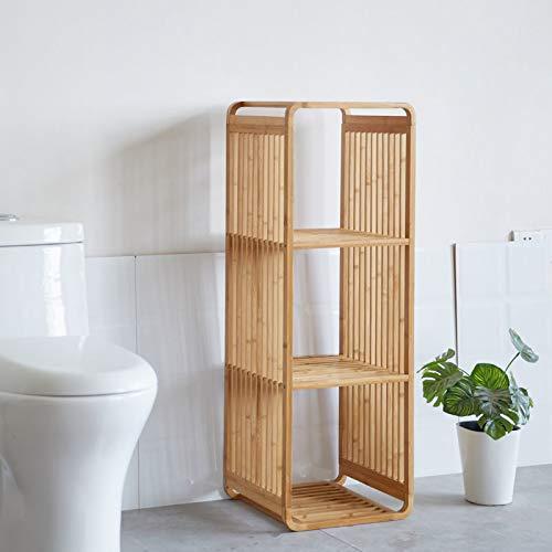 Bamboe vakken kastje - badkamerkast - vakkenkast - schoenenkast - kubuskast - 3 Kubus Bamboe vakken kastje - badkamerkast - vakkenkast - schoenenkast - kubuskast - 4 Laags - Decopatent®