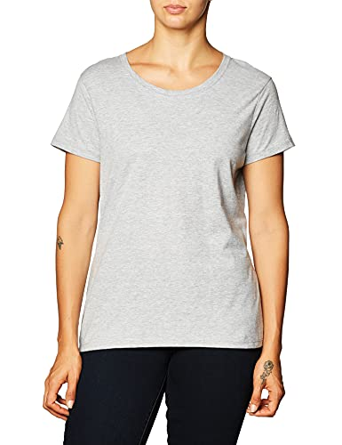 Hanes Women's Nano T-Shirt, Medium, Light Steel
