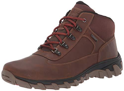 Rockport Men's CSP Chukka Boot, Bison Leather, 14 M US