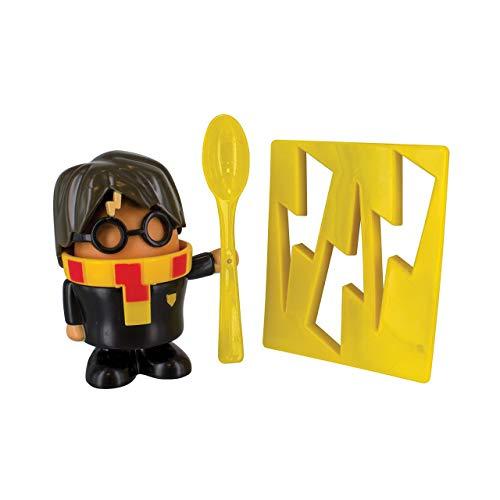 Harry Potter Eierbecher und Toastschneider, Plastik, Mehrfarbig, 6 x 20 x 14 cm