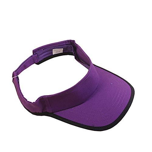 Vobajf Sombreros de Visera para Mujer Deportes al Aire Libre para Mujer Sombreros con Visera para Golf Tenis Ciclismo Correr y Caminar para ordenar Casquillo Superior vacío