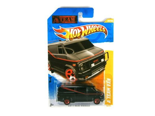 Hot Wheels The A-Team Van GMC 2011 new models die-cast 1:64 scale by Hot Wheels