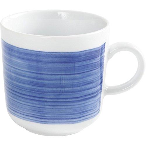 KAHLA Kaffeebecher PRONTO AKTION Wir machen Blau!, 0,30 l, Kaethe W. Ofensortierung (H.Nr. 475300O75004C)