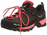 Salewa WS MTN Trainer GTX, Zapatillas de Senderismo para Mujer, Schwarz (Black out/Rose Red 981), 36.5 EU