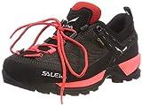 Salewa WS MTN Trainer GTX, Zapatillas de Senderismo para Mujer, Schwarz (Black out/Rose Red 981), 36.5 EU