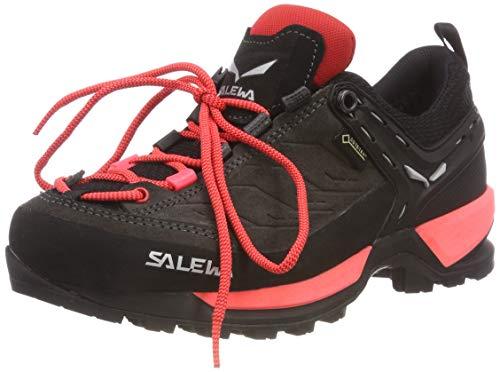 Salewa Damen WS Mountain Trainer Gore-TEX Trekking- & Wanderstiefel, Black Out/Rose Red, 40.5 EU