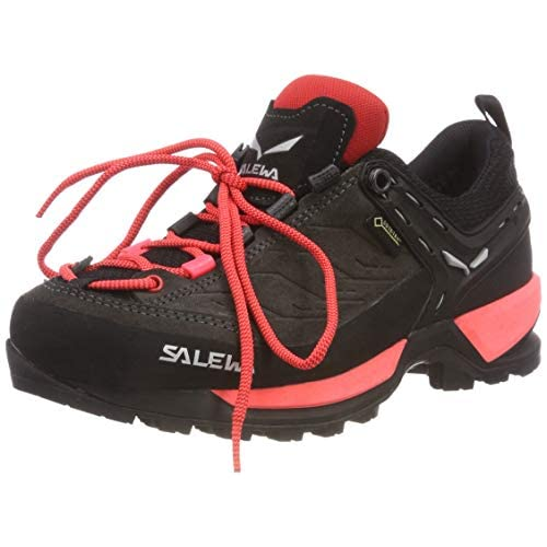 SALEWA WS Mountain Trainer Gore-Tex, Stivali da Escursionismo Alti Donna, Black out Rose Red, 36 EU