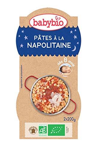 Babybio Bols Pâtes à la Napolitaine 2x200 g