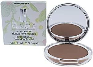 Clinique Superpowder Double Face Makeup - 01 Matte Ivory Vf-P By Clinique For Women - 0.35 Oz Powder 0.35 oz