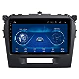 カーGPSナビゲーション、Suzuki Vitara2015-2016用9インチ2.5DタッチスクリーンAndroid9.0、カーDVDGpsプレーヤーシステムWifiBluetooth、内蔵ラジオビデオナビゲーション、WIFI 1G + 16G