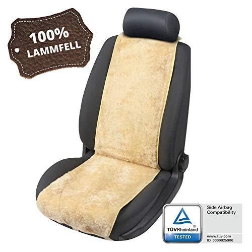 Walser Autositzbezug Lammfell Lammfellbezug Cosmo Autoschonbezug Lammfell beige 20028