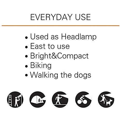 INHDBOX LED Mütze Kappe, Strickmütze mit USB Nachladbare Licht, Beleuchtung und blinkende Warnungs-Arten 8 LED, einfache Installation Vorne Hinten Scheinwerfer-Mütze, Winterwärmer-Strickkappe - 8