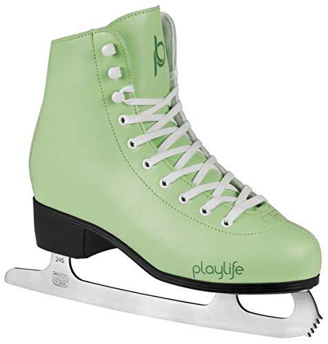 Powerslide Eiskunstlauf Schlittschuhe Classic | Knöchelpolster | Damen | Größe 40 Mint