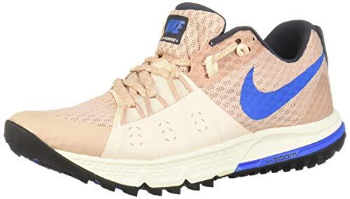 Nike Damen WMNS Air Zoom Wildhorse 4 Laufschuhe, Mehrfarbig (Particle Beige/Signal Blue-Guava Ice 200), 37.5 EU