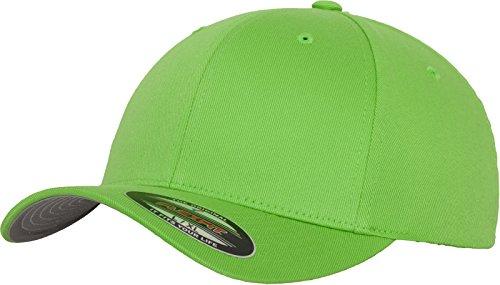 Flexfit Unisex-Erwachsene Wooly Combed 6277 Mütze, Grün (fresh green), XL/XXL