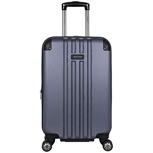 Kenneth Cole Reaction Reverb 20' Lightweight Hardside Expandable 8-Wheel Spinner Carry-On Suitcase, Smokey Purple