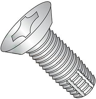 """8000 pcs #10-24 X 1//2/"""" Thread-Cut Screws Type 1 Flat Phillips Steel Zinc"""
