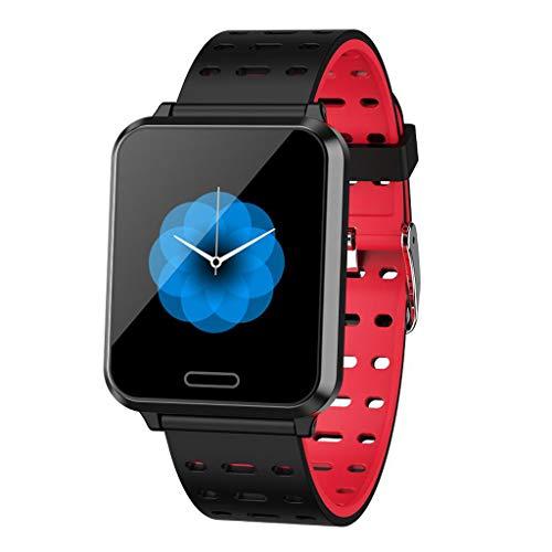 LQIAN P2 Fitness Armband 1,3 Zoll IPS Farbdisplay mit Pulsmesser Wasserdicht IP67 Fitness Tracker Activity Tracker Pulsmesser Smartwatch