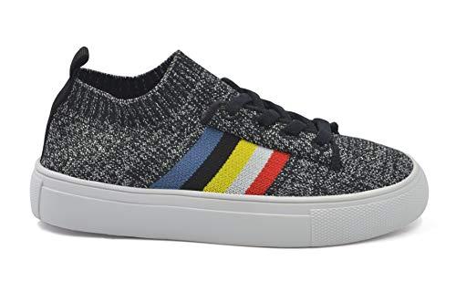 SAMS Knit Rainbow Sock Sneaker