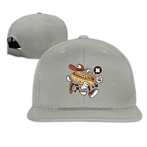 AEMAPE Running Hot Dog Leisure Fashion Classic - Gorra de béisbol plana