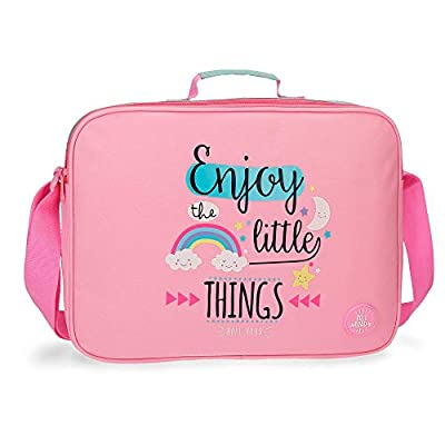 ROLL ROAD Little Things Mochila escolar, 38 cm, 6.38 litros, color Rosa