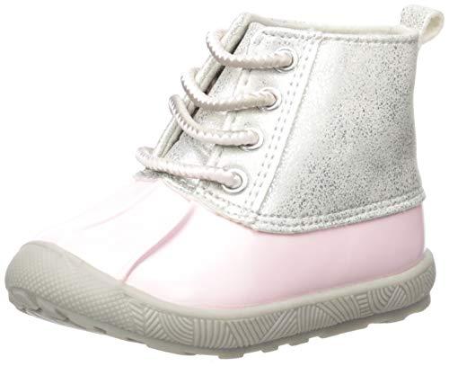 Baby Deer Jude Duck Boot Rain, Pink, 4