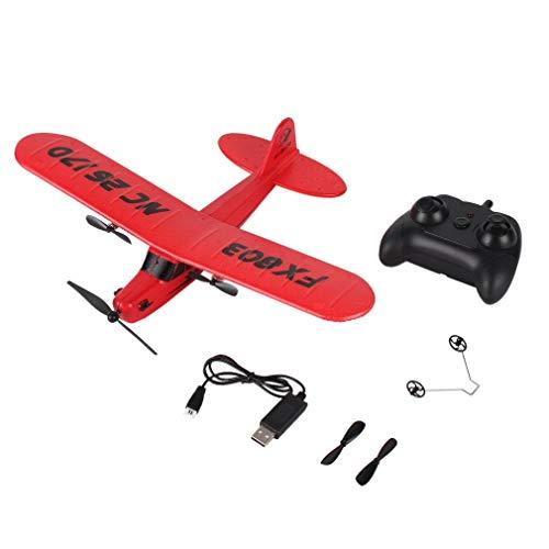 FX803 Afstandsbediening Zweefvliegtuig Speelgoed Vliegtuig Aerodone Schuim Vliegtuigen Afstandsbediening Grappige Kinderen Audult Speelgoed Casco Batterij Rood